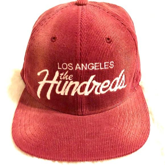 "1cc0b09eb51f2f ""The Hundreds"" Los Angeles corduroy SnapBack. M_5aaf77a22ae12fe37cf3c3d8"